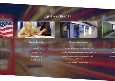 creacion pagina academia formacion