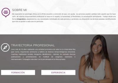 creacion pagina psicologos terapia Diseño paginas web