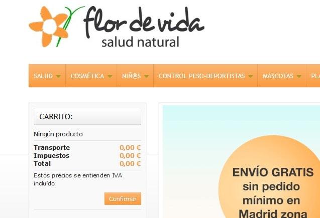 Diseño de tienda online Prestashop para herbolario tiendas online compra de productos