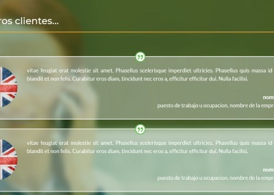 Creacion Web Clases Ingles