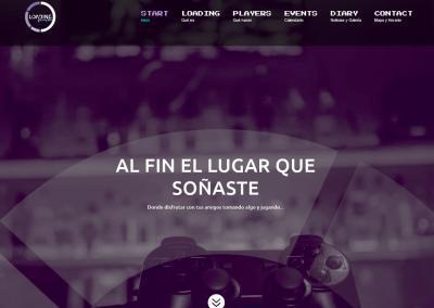 Creacion Web Empresa Gaming