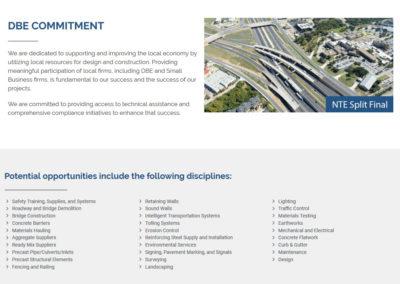 Creacion Web Infraestructuras Servicios