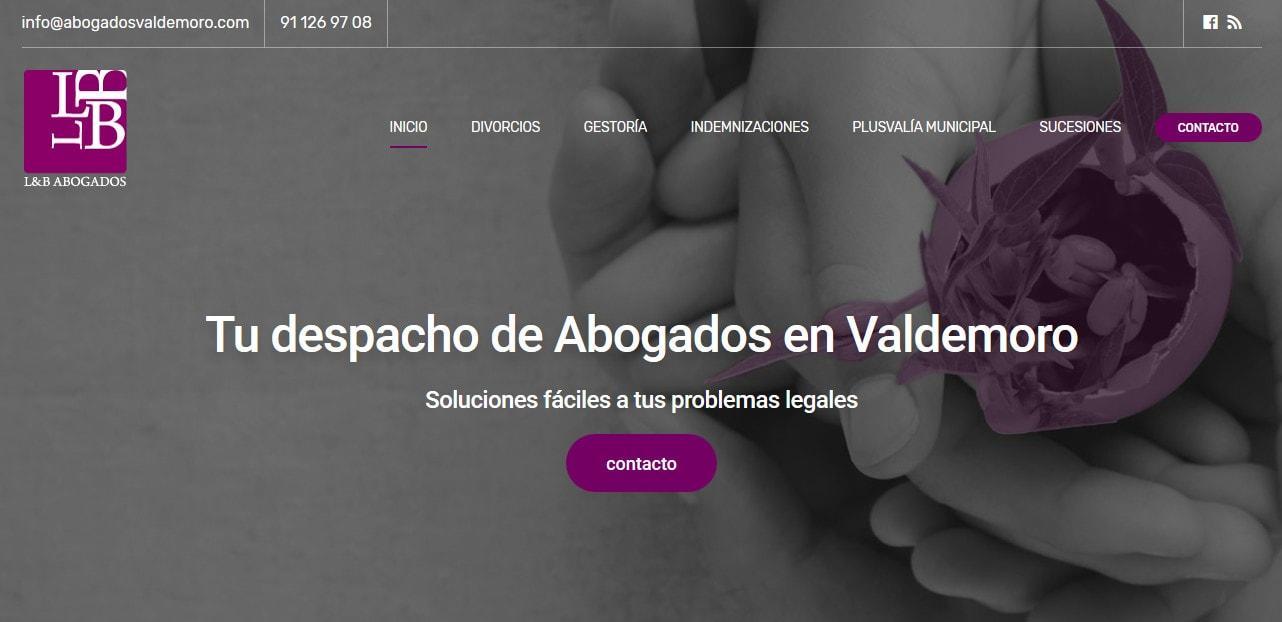 creacion web pagina abogados Diseño paginas web