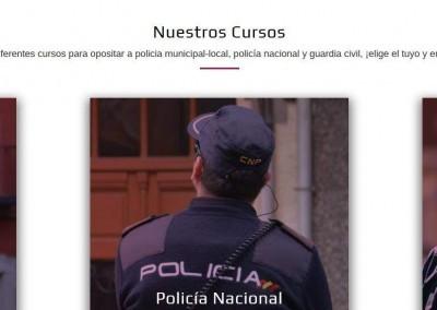 diseño web policia