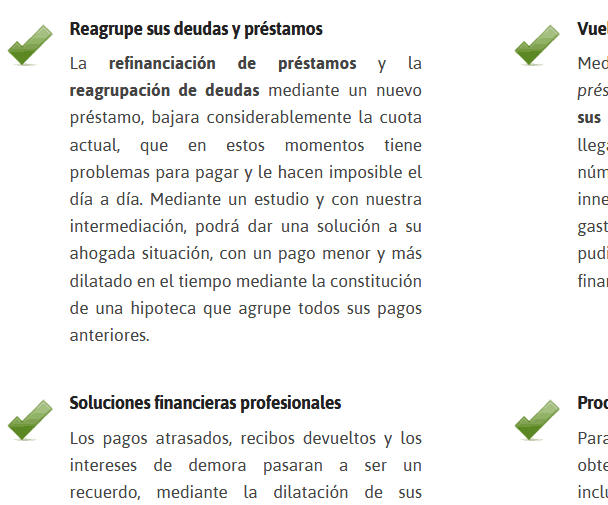 webs para financiacion
