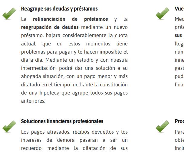 Webs Para Financiacion