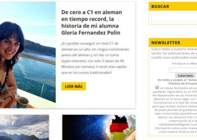 creacion web profesor idiomas Diseño paginas web