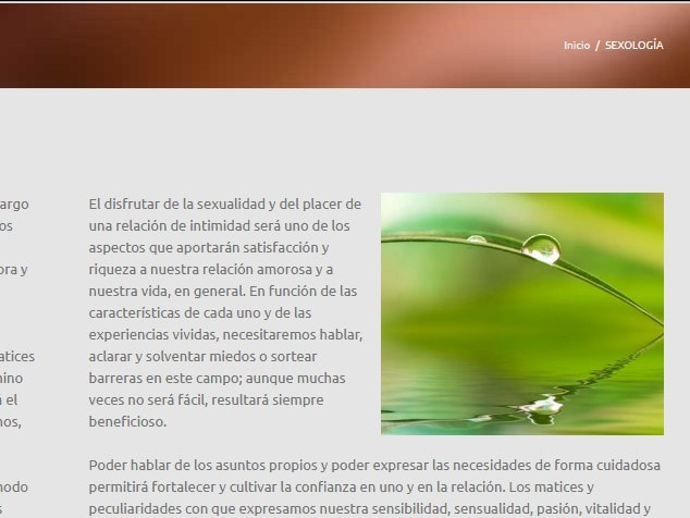 web para sexologos Madrid