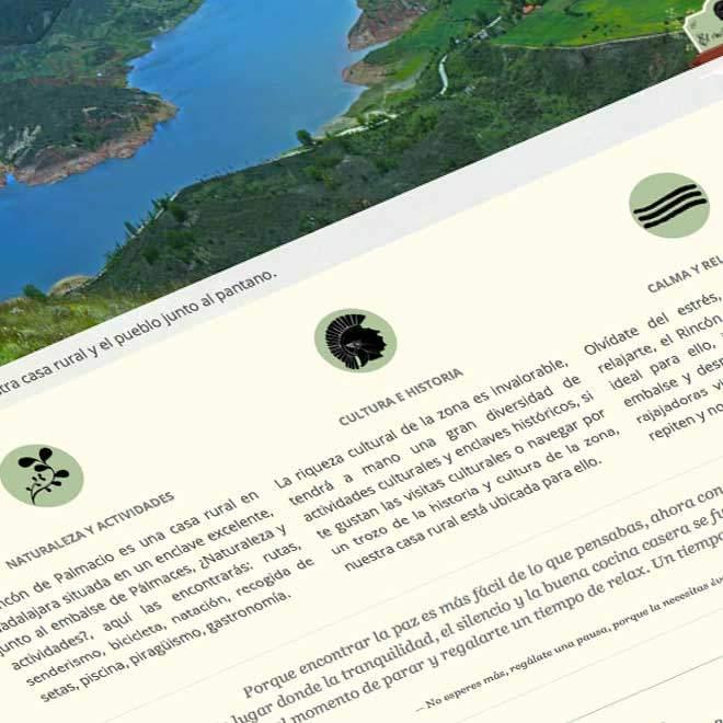Diseño de página web para casa rural