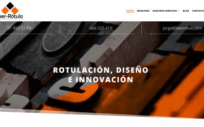 Nueva Página Web Para Empresa De Luminosos Y Rotulación En Madrid