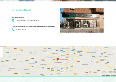 Creacion Pagina Web Farmacia