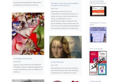 Curiosidades Grafologicas Pagina Web