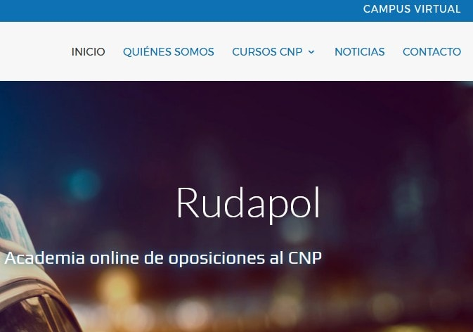 web catalogo cursos