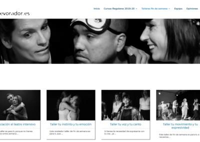 Cursos Talleres Teatro Madrid Web