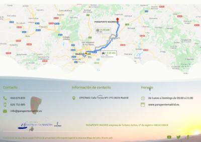 cursos parapente paratrike web madrid Diseño paginas web