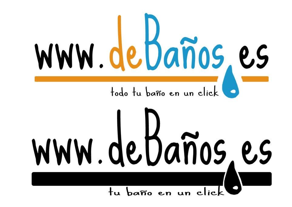 Diseño de logotipo: deBaños.es