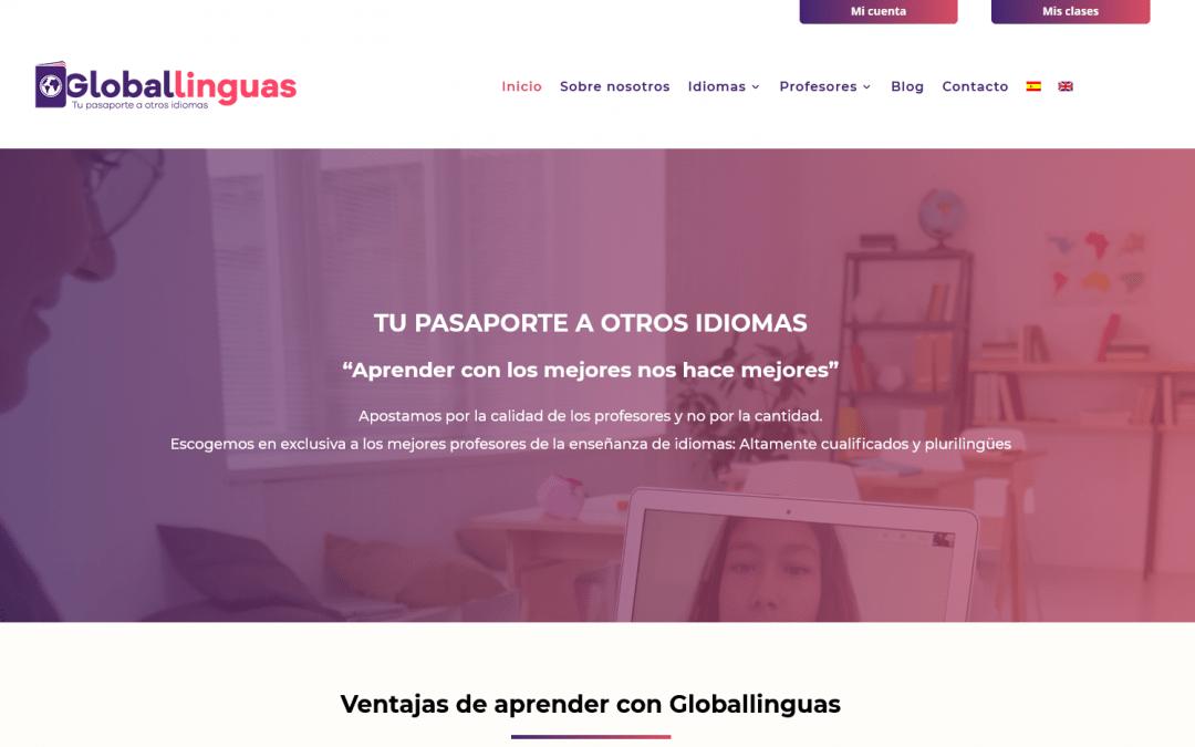 Creación de nueva página web para reserva y pago de clases online