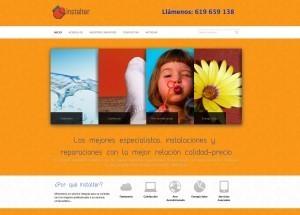 diseñoPaginaswebInstalter Diseño paginas web