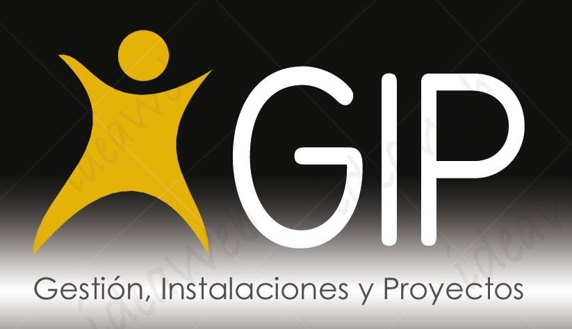 Diseño de logotipo: GIP, Gestión, Instalaciones y Proyectos