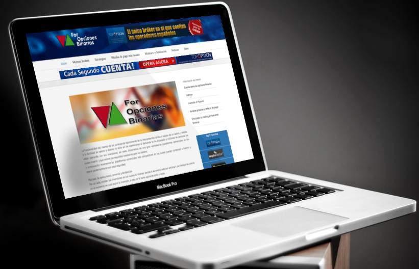 Diseño de página web y foro para For Opciones Binarias
