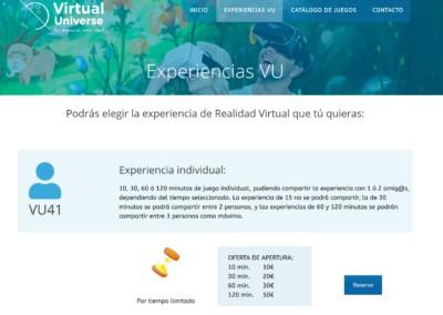 Disenadores Web Experiencias Virtual Universe