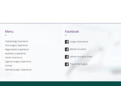 disenadores web maxilo facial zygoma Diseño paginas web