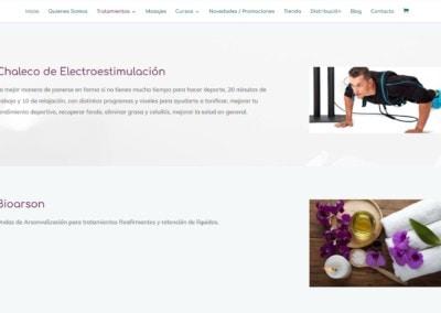 disenadores web salud belleza ecologica madrid Diseño paginas web