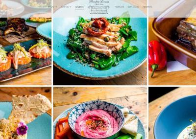 disenadores web servicio domicilio restaurante Diseño paginas web