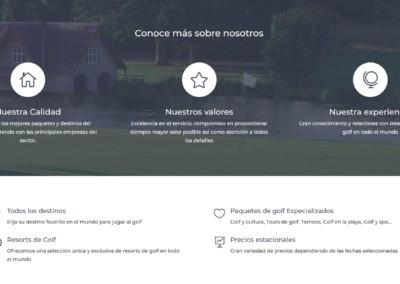 Disenadores Web Viajes Golf