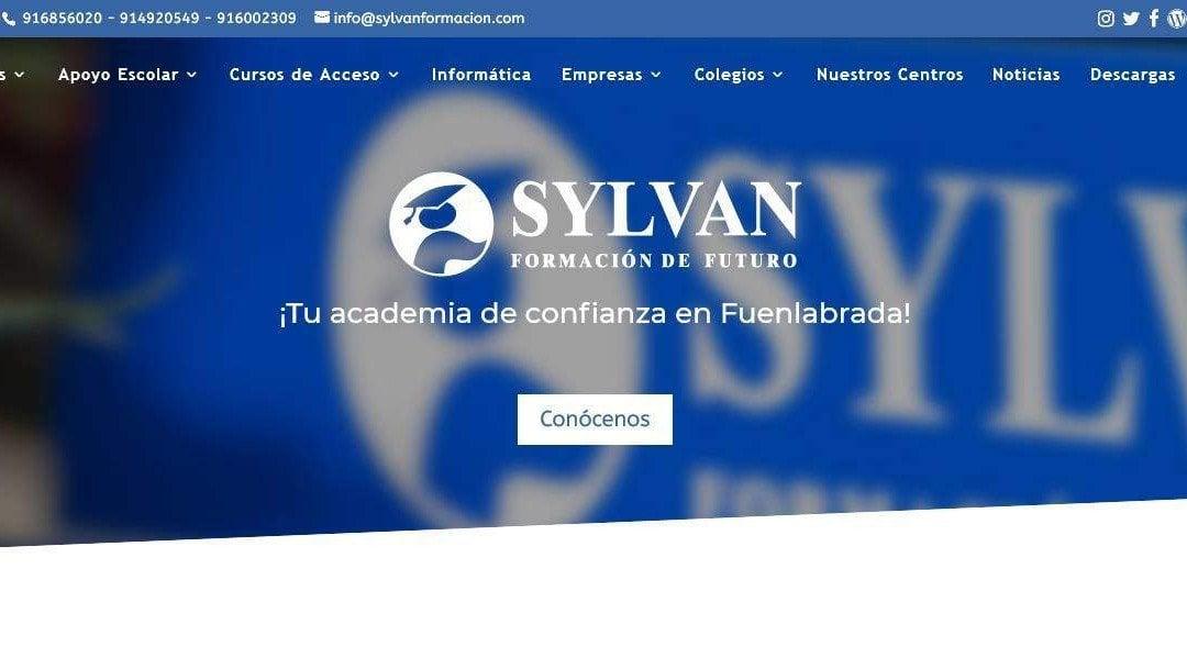 Diseño de página web para centros y academias, formación, cursos en Madrid