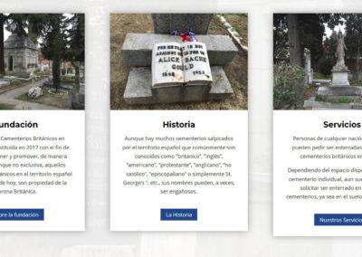 Diseno Cementerios Britaniscos Web