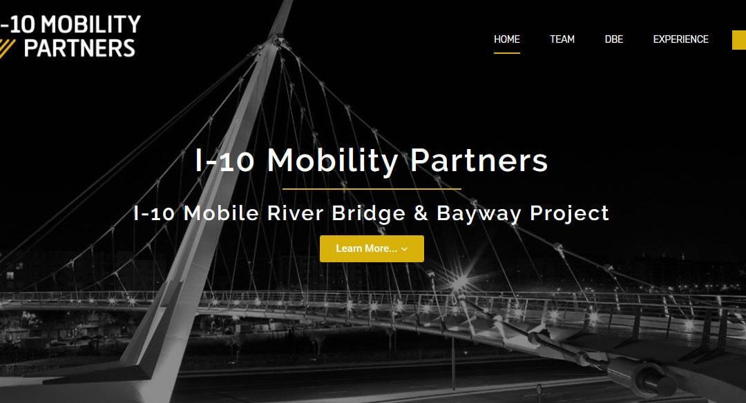 Diseño de página web empresa de construcción servicios aeropuertos autopistas