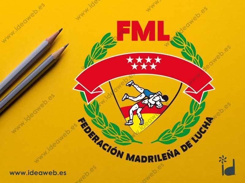 Rediseño a medida para logotipo Federación Deportiva Madrileña