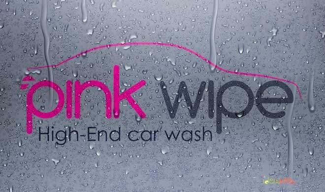 Diseño de logotipo y eslogan para empresa de lavado de vehículos alta gama