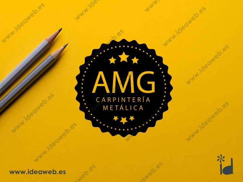 Diseño de logotipo carpintería aluminio, carpinteros en hierro y aluminio en madrid
