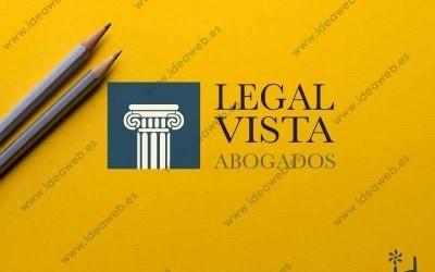 Diseño de logotipo despacho abogado legal