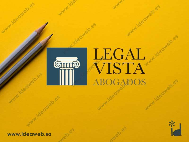 Diseño de logotipo despacho abogado legal