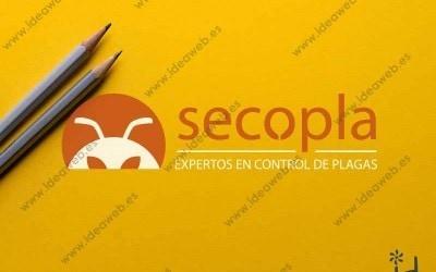 Diseño logotipo para empresa de Madrid plagas fumigación