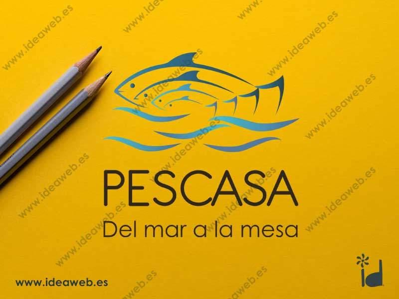 Diseño de logotipo empresa alimentación distribuidora