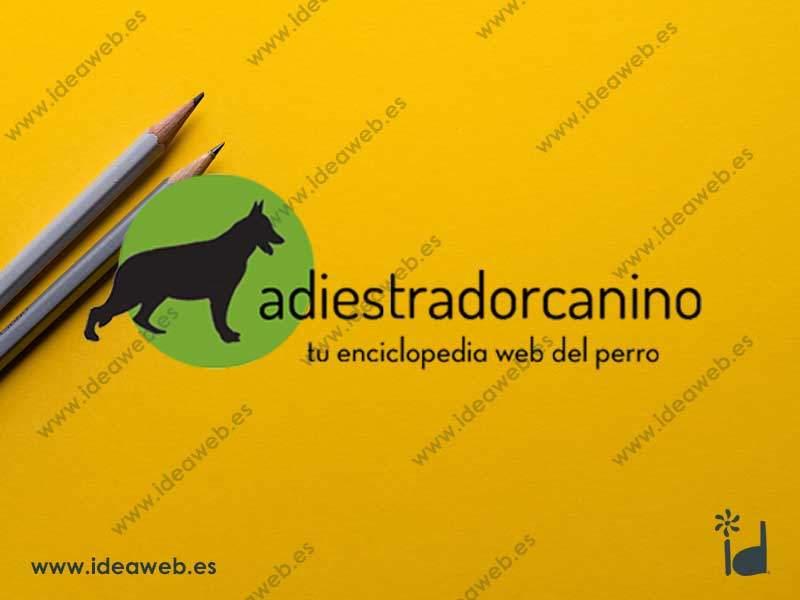 Diseño de logotipo entrenador adiestrador animales