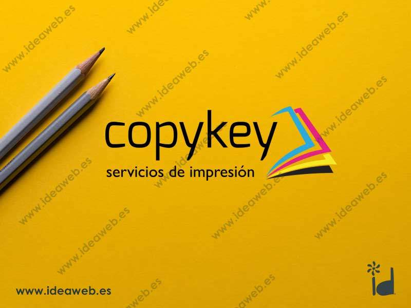 Diseño de logotipo imprenta impresión