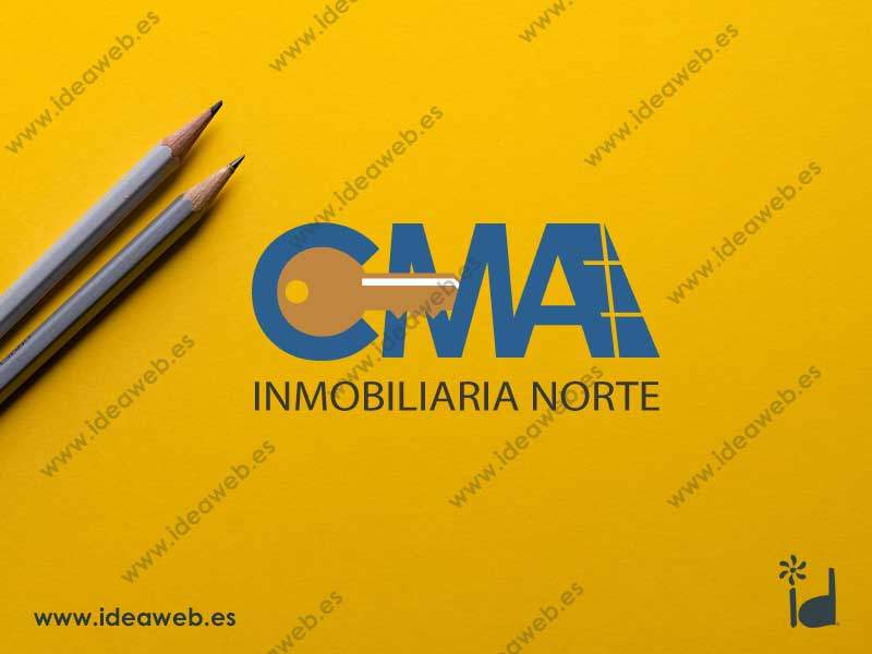 Diseño de logotipo para inmobiliaria de Madrid