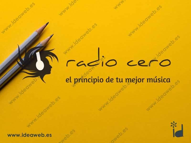 Diseño de logotipo para radio online logotipo de música