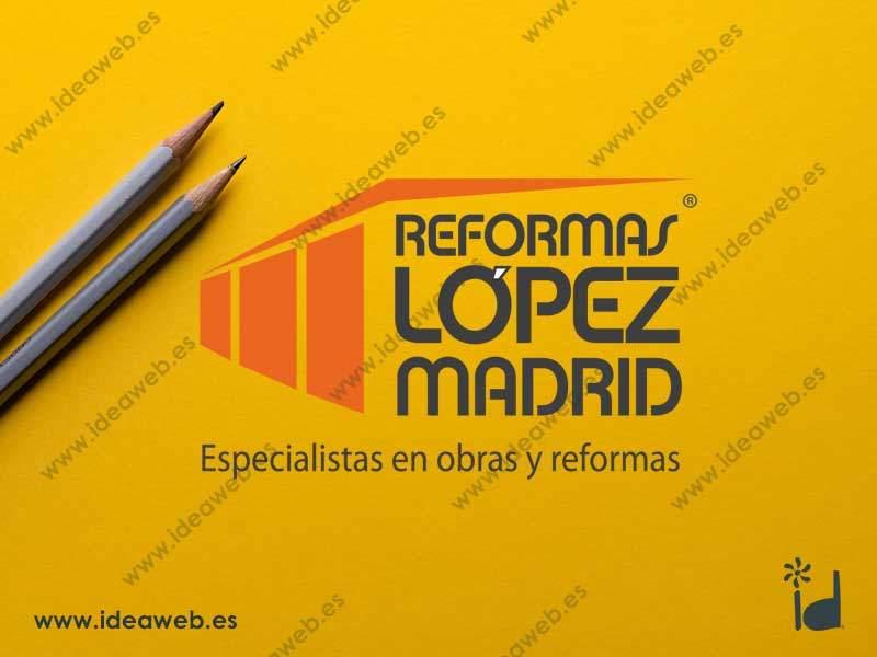 Diseño de logotipo para reformas obras albañilería
