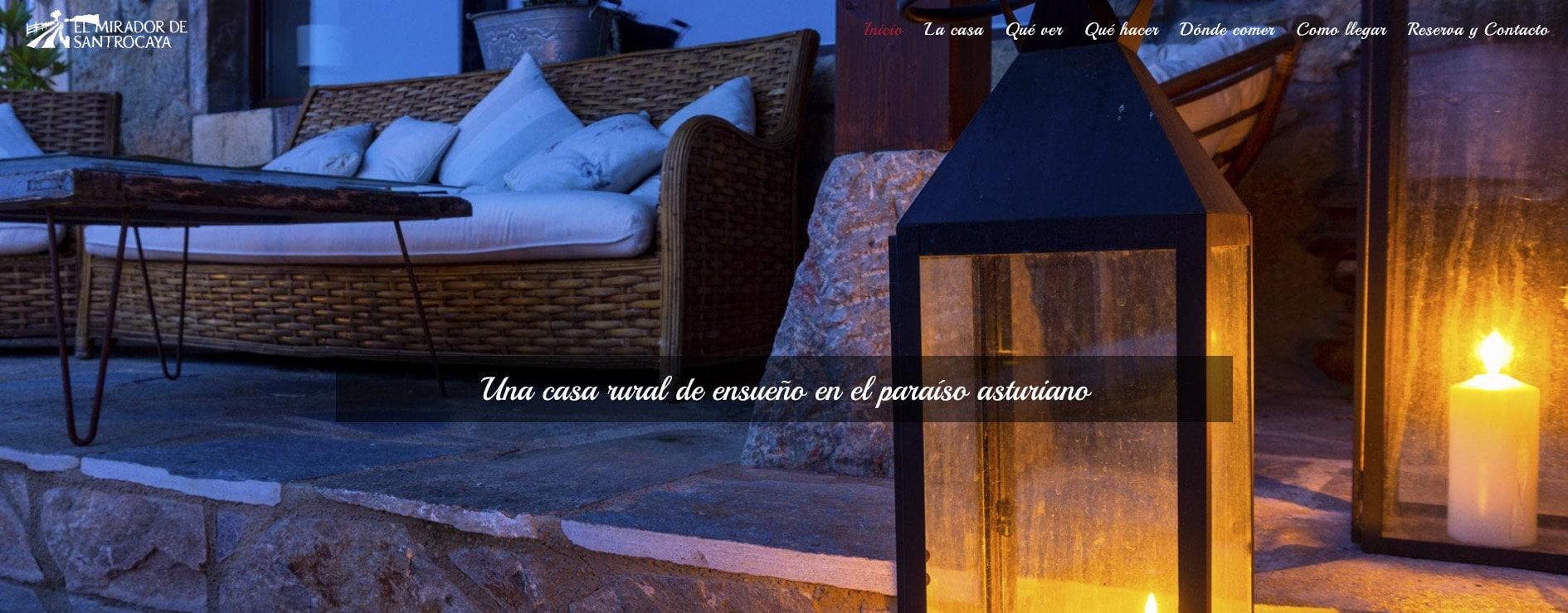 diseno pagina casa rural Diseño paginas web