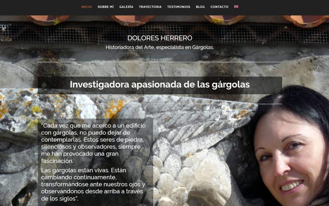Diseño de páginas web para proyectos de investigación estudios de arte e historia