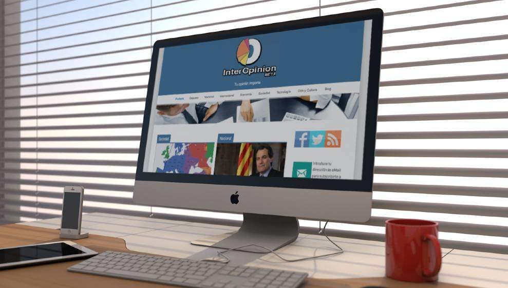 Diseño pagina web – Magazine de opiniones y votaciones
