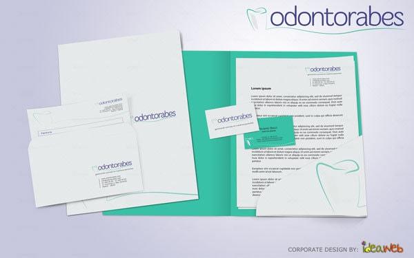 Dise o de logotipo e identidad corporativa para clinica dental en madrid ideaweb dise o Clinicas dentales de diseno