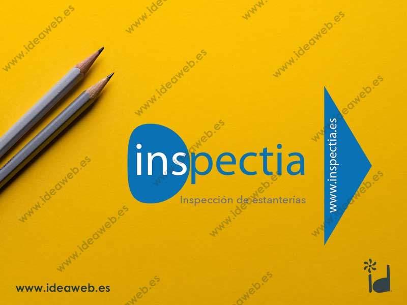 Diseño de tarjeta de visita para empresa de certificación e inspección