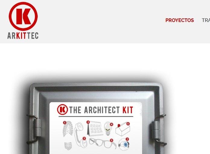 Diseño de página web para arquitectos. Web para estudio de arquitectura.